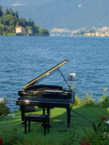 Music on the lake