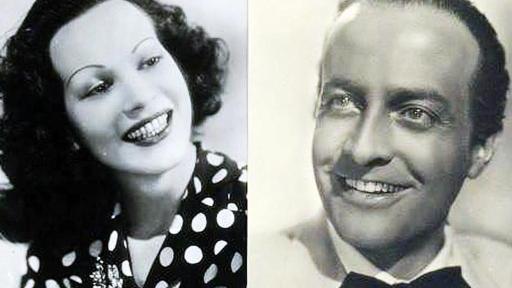 Osvaldo valenti and Louisa Ferida