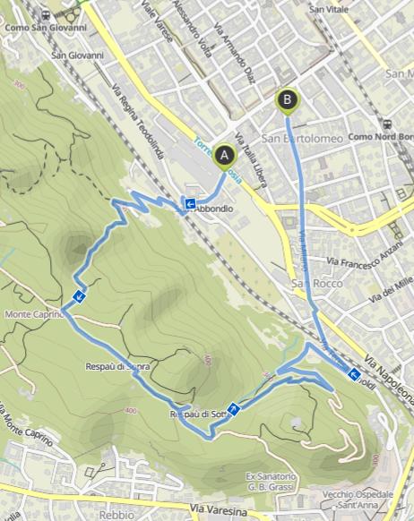 Quick Walks Spina Verde
