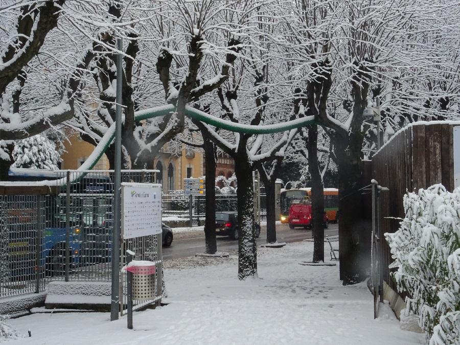 Como under snow