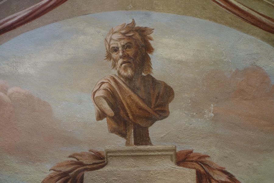 Fresco Fratelli Recchi, Chiesa di San Giorgio