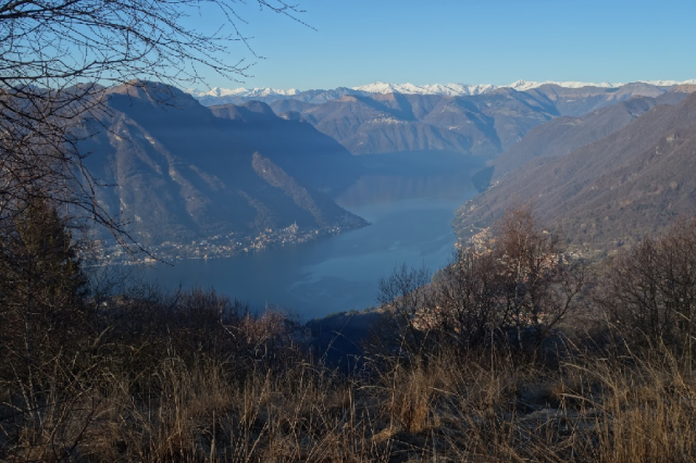 Lake Como from Monte Palanzone