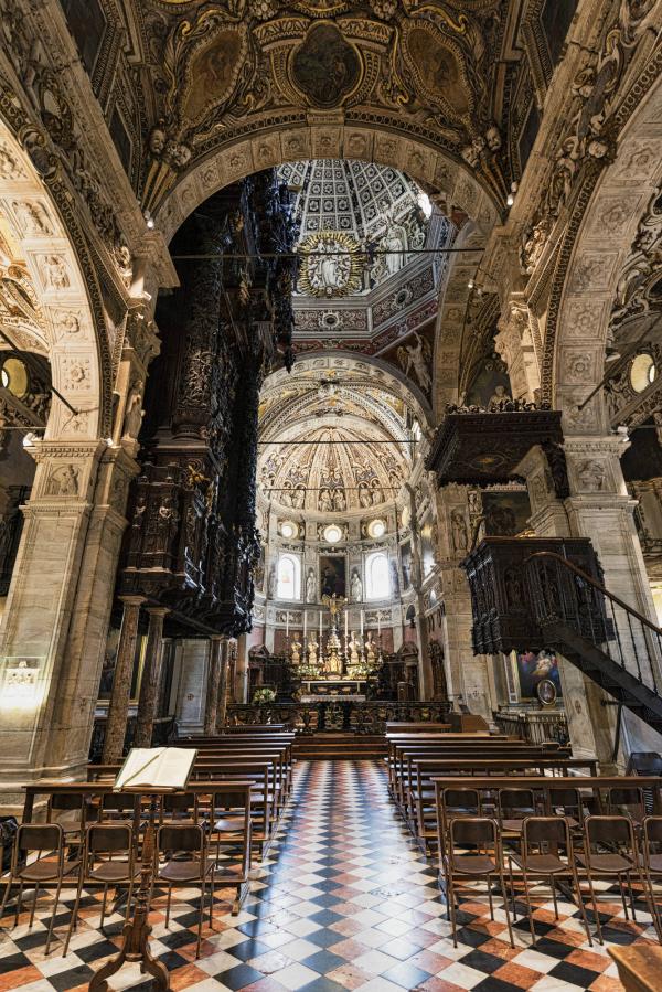 Santuario della Madonna at Tirano Valtellina