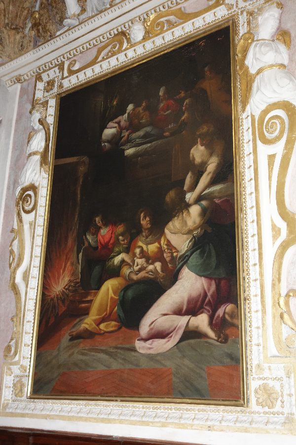 The Birth of Virgin Mary, Morazzone
