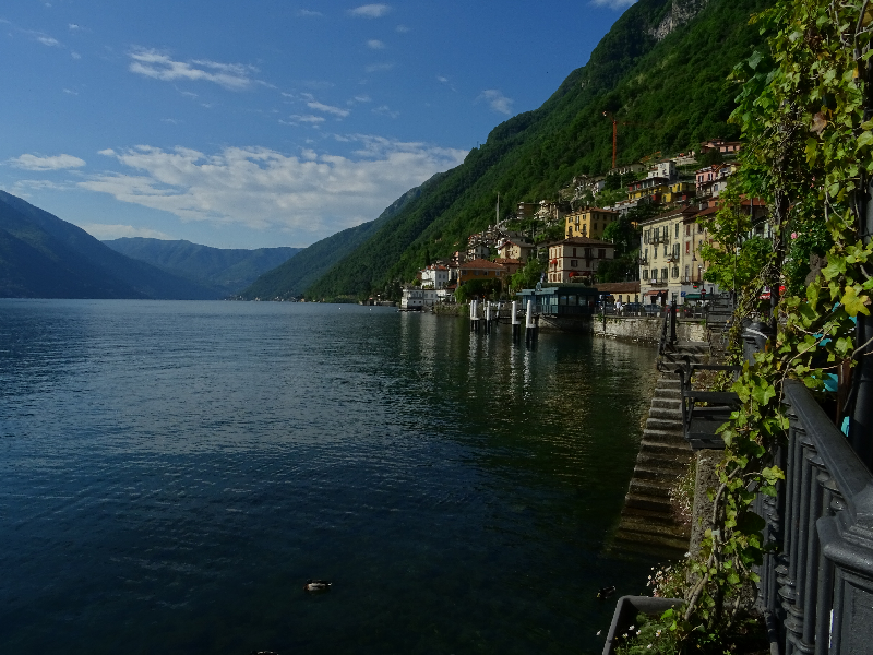Clean waters of Argegno