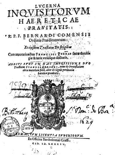 Bernardo Rategna Inquisition Techniques