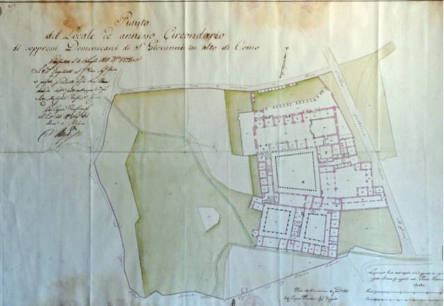 San Giovanni Pedemonte plan