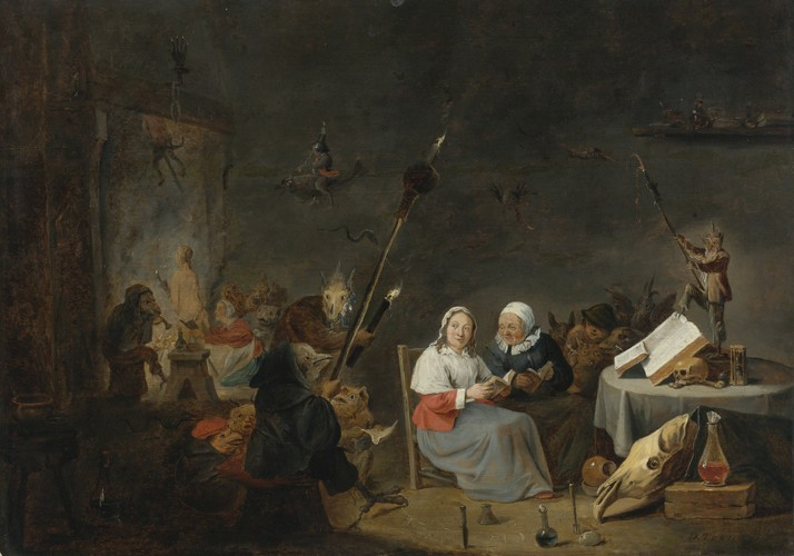 witches sabbath David Teniers