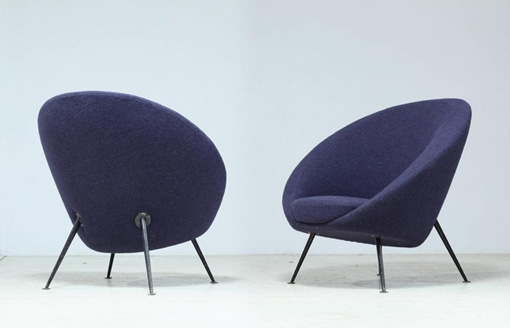 ico parisi egg chair cassini 1951