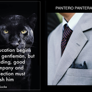 Pantero Pantera - a Como-based line in 'new dandy' clothes