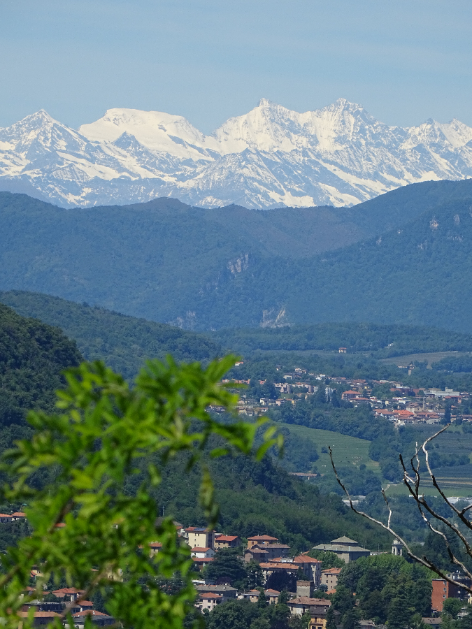 Monte Rosa from Brunate