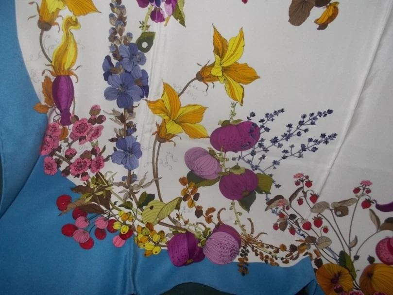 Fiorio silk scarf