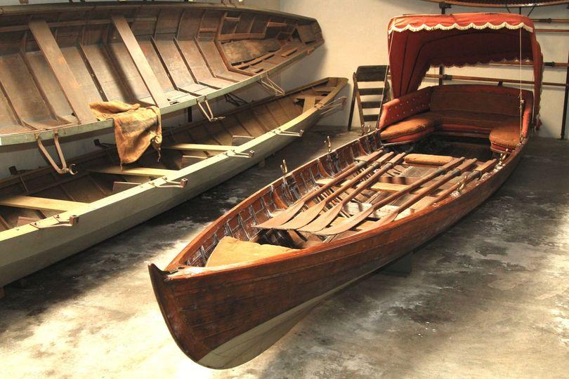 Inglesina museo barche lariane
