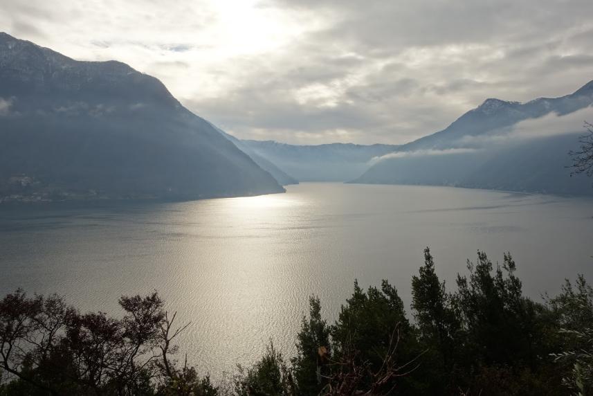 Lake Como from Colonno