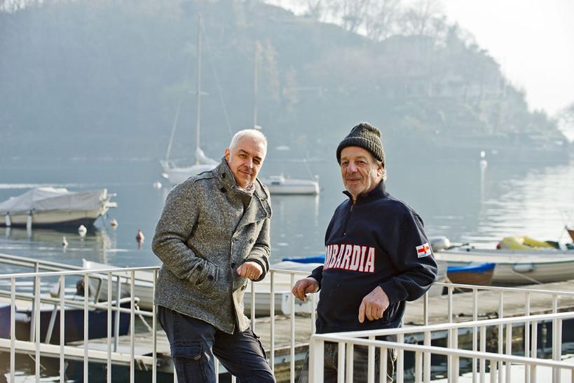 Van de Sfroos and Sergio Bordoli