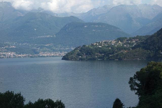 Day 1, view back to Olgiasca
